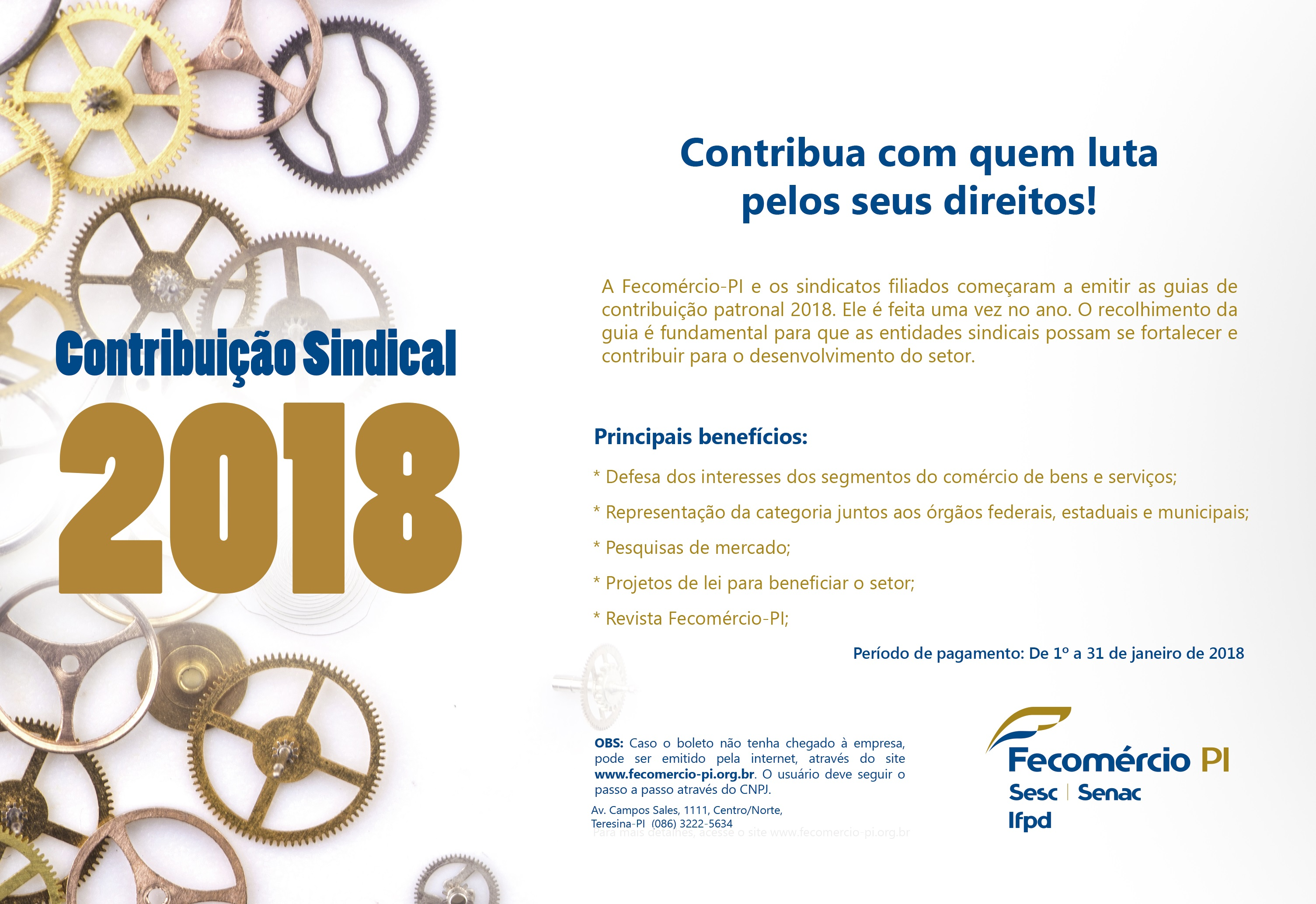 CONTRIBUICAO SINDICAL2018
